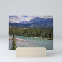 Moraine River Mini Art Print