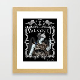 Valkyrie Framed Art Print
