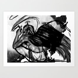 Shadow's Devil Art Print