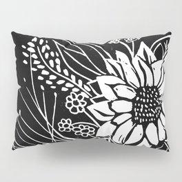 Bouquet Block Print Pillow Sham