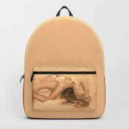 nude dreams of passion Backpack
