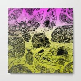Bones and color Metal Print