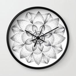 Dotts Mandala Wall Clock