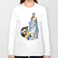 ufo Long Sleeve T-shirts featuring UFO by Mowil