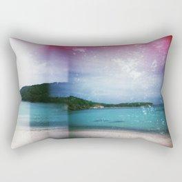 St John, USVI Multiple Exposure Rectangular Pillow
