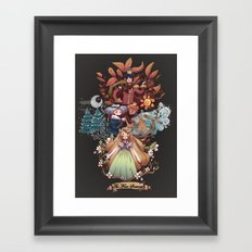 The Four Season Framed Art Print