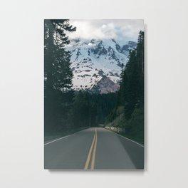 Road to Rainier Metal Print