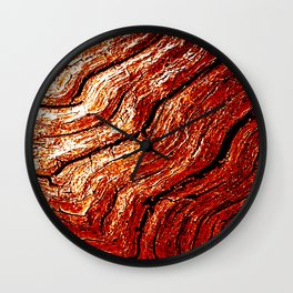 Driftwood Bronze Wall Clock