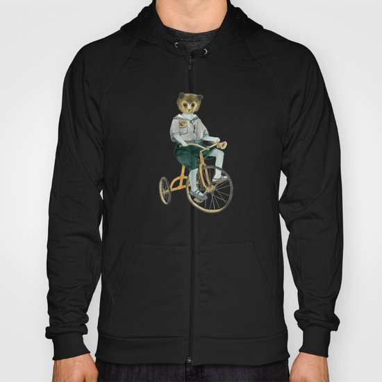 Bear on a Tricycle Hoody