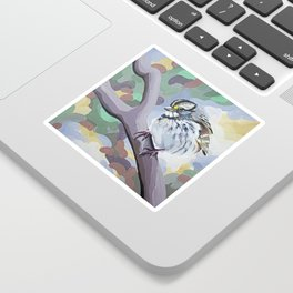 White-throated Sparrow Sticker