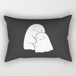 Ghost Hug - Soulmates Rectangular Pillow