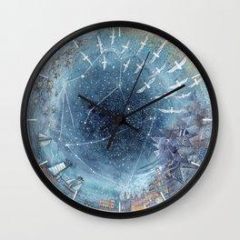 Capricorn & Aquarius friendship Wall Clock