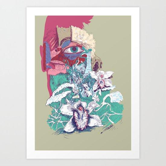 Stream of Tears Art Print
