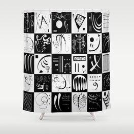 Wassily Kandinsky Thirty Shower Curtain
