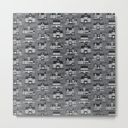 Haunted Houses Metal Print