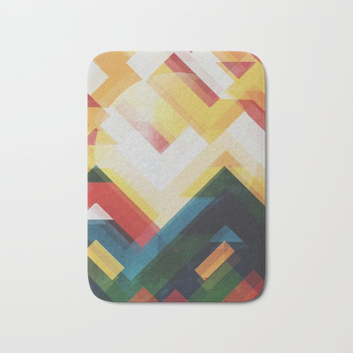 Mountain of energy Bath Mat