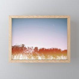 Little explorer#retro#film#effect Framed Mini Art Print