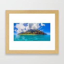 Kalalau Beach, Kauai, Hawaii Framed Art Print