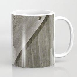 Barn Board Door Coffee Mug