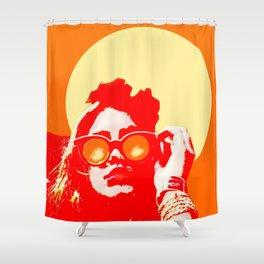 Fashion & pop Shower Curtain