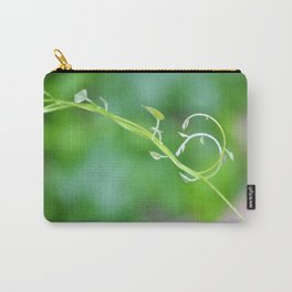 Cute Baby Curlicue Vines Carry-All Pouch