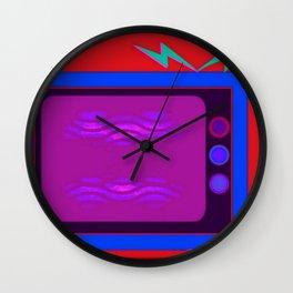 White Noise Wall Clock