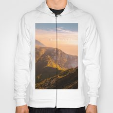 Creamy Dream - Mountains Landscape Photography Hoody
