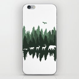 The Walk Through The Forest iPhone Skin