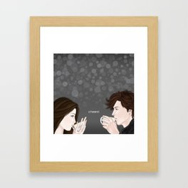 cheers Framed Art Print
