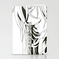 kuroshitsuji Stationery Cards featuring Kuroshitsuji Undertaker by Reira Hoshikuzu