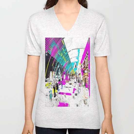 Late Nite Shopping Unisex V-Neck