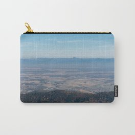 View at the mountains Carry-All Pouch