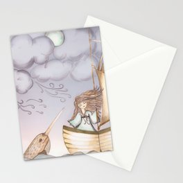 Spirit of the Narwhal Stationery Cards