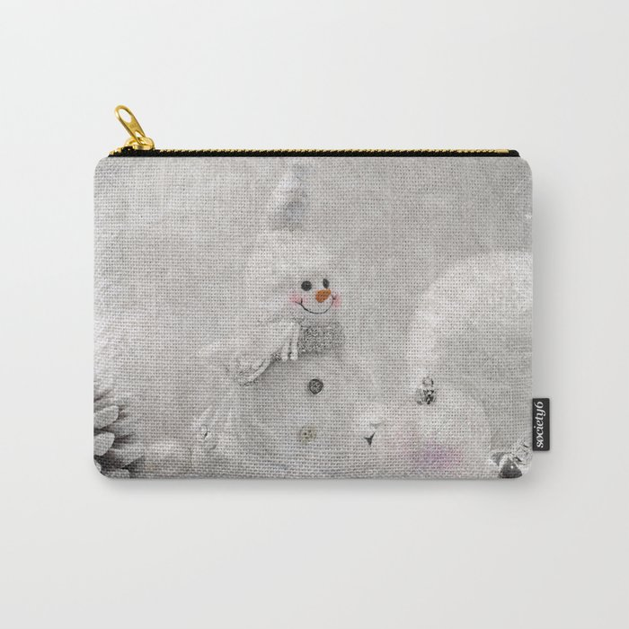 Cute snowman winter season Carry-All Pouch