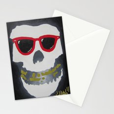 Old Dirty-Crimson Ghost-Face Killa Stationery Cards