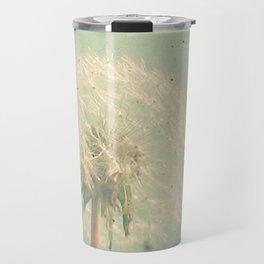 Dandelion Clock Travel Mug