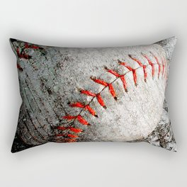 Baseball art Rectangular Pillow