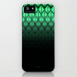 Future Scales Green iPhone Case