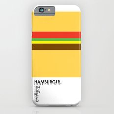 Pantone Food - Hamburger iPhone 6 Slim Case
