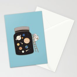 confined space Stationery Cards