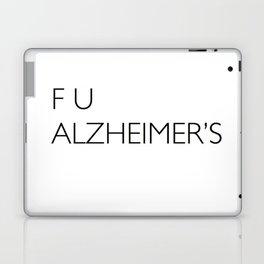 F U ALZHEIMER'S Laptop & iPad Skin