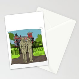 """""""Tourists on Broadway"""" 2013 a.correia Stationery Cards"""