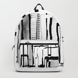 Black and White City Backpack