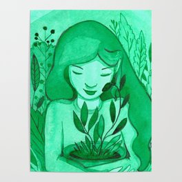 mutual green love Poster