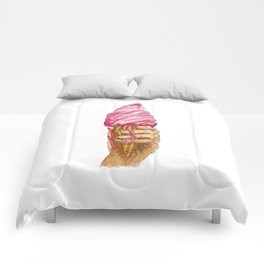 Ice Cream, You Scream! Comforters