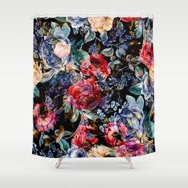 Botanic Pattern Shower Curtain