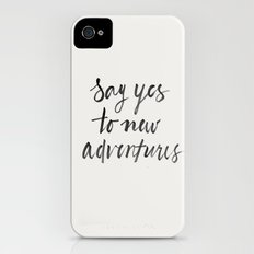 Say Yes to New Adventures Slim Case iPhone (4, 4s)