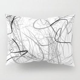 Crazy lines Pillow Sham