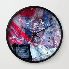 Striking matchstick Wall Clock