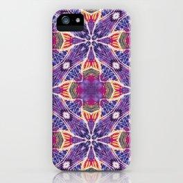 Batik Medallion iPhone Case